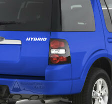 "HYBRID 6"" X 1"" VINYL DECAL STICKER - WHITE"