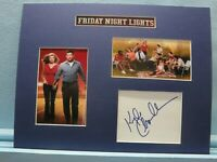 """""""Friday Night Lights"""" starring Kyle Chandler as Eric Taylor & his autograph"""