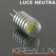 W002 LAMPADINA LED G4 LUCE NEUTRA 1.5W 12V