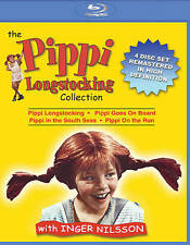 The Pippi Longstocking Collection (Blu-ray Disc, 2015, 4-Disc Set)