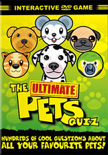 DVD:THE ULTIMATE PETS QUIZ - NEW Region 2 UK