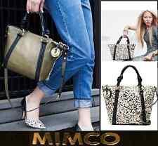 MIMCO SUPERNATURAL MINI TOTE BAG in KHAKI leather + Tag & Dbag rrp$450 SALE $249