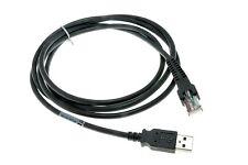 Lot of 10 7FT USB Laser Barcode Scanner Cables for Symbol LS408 LS3408 LS1203
