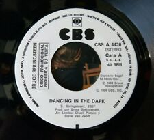 Bruce Springsteen - Dancing In The Dark -  Spanish Promo 7 - One Sided.