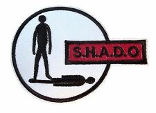 "UFO S.H.A.D.O. Emblem Logo 4"" Wide Embroidered Patch"