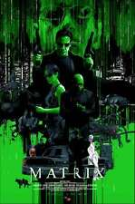 MATRIX A GLITCH IN THE MATRIX R17 Variant Limited edition print #75 VANCE KELLY