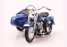 Maisto 1:18 Harley Davidson 1952 Fl Hydra Glide Sidecar Motorcycle Bike Model