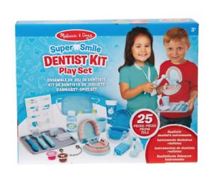 Melissa & doug multicolour super smile dentist kit play set