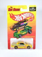 Hot Wheels The Hot Ones Yellow Buick Grand National New with Protector Pak NOC