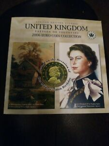 2006 UK Pattern or Prototype Euro Coin Collection