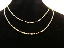 Damenlkette Goldkette 72 cm   333=8 Kt  Echtgold Gold