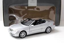 1:18 Kyosho Mercedes CLK Convertible silver DEALER NEW bei PREMIUM-MODELCARS
