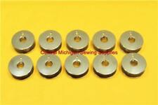 10 PFAFF SEWING MACHINE METAL BOBBINS FITS 130, 230, 260, 262, 332, 360, 362