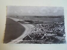 Vintage Real Photo Postcard CHESIL COVE+PORTLAND FROM PRIORY CORNER §A1296