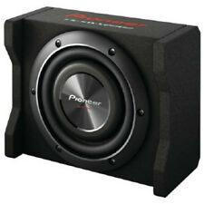 """NEW 8"""" Pioneer Shallow Depth Subwoofer Speaker Box Bass System.Behind Truck Seat"""
