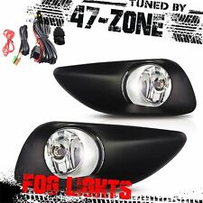 For 2006-2010 Toyota Yaris 4 Door OE Style Clear Lens Chrome Fog Lights Pair Set