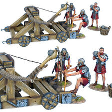 First Legion ROM180 Roman Onager with 3 Crew - Red Tunics