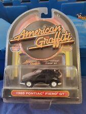 Motor Max 1985 Pontiac Fiero American Graffiti Edition Car 1/64 Black