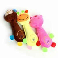 Cute Dog Cat Plush Toy Squeak Sound Soft Plush Puppy Chew Toys Pet Gifts Home
