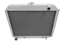 "1966-70 Chrysler/Dodge/Ply Radiator & 2-12"" Fans American Eagle 2 Row 1"" Tubes R"