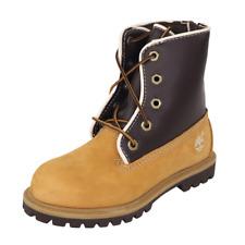 Timberland Little Kids Boots Leather SPD UP Wheat Waterproof 29878 Outdoors SZ12