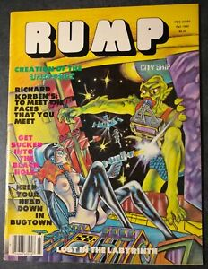 RUMP MAGAZINE,1980,67 PAGES, RICHARD CORBEN, GENE DAY, JOHN WORKMAN, HEAVY METAL