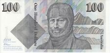Australia 'Fraser - Cole' Paper $100 (1992), Uncirculated
