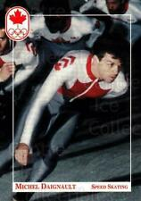 1992 Canadian Olympic Hopefuls #129 Michel Daignault