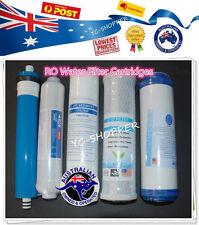Replacement Water Filter Cartridges + Reverse Osmosis RO Membrane Water Filter