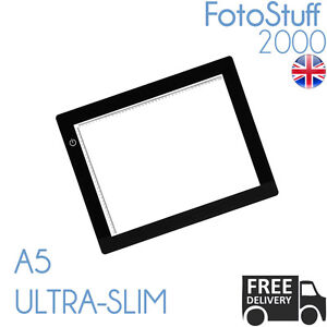 A5 LED Ultra Slim Light Box Dimmable Photographic 5600K A5 Light Pad Light Panel