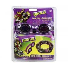 Teenage Mutant Ninja Turtles Plage Natation Enfants Garçons Bouée & Lunettes Set