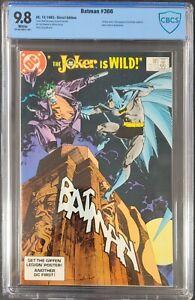 Batman #366 DC Dec 1983 Joker & 1st Jason Todd as Robin! CBCS NM/MT 9.8 not CGC!