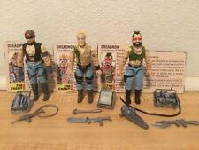 Vintage 1985 GI Joe Cobra Lot Dreadnoks 100% Complete Buzzer Ripper Torch FC