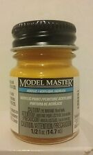 Testors Model Master Acrylic paint 4624, Turn Signal Amber