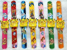 12Pcs Pikachu Children's Cartoon Clap watch Digital watches Party Gifts I-65