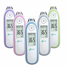 Digital IR Infrared Ear Forehead Thermometer Baby Adult Fever Temperature Meter