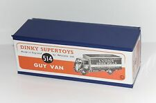 DINKY Reproduction Box 514 GUY VAN 'Lyons' Swiss Rolls