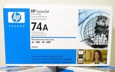NEW HP 74A 92274A OEM Genuine Black Laserjet Toner Print Cartridge Sealed