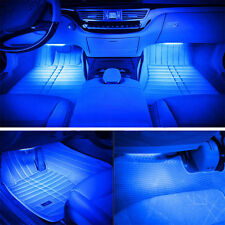 Car Atmosphere Lamp Led Car-styling Blue LED Strip Lights Interior Light Source