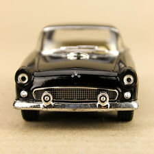 1955 Ford Thunderbird Collectible Model Car Black 1:36 Die-Cast 12.5cm Detailed
