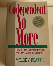 Codependent No More by Melody Beattie FREE USA SHIPPING codependency paperback