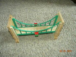 Sodor Suspension Bridge Collapsing - Thomas  Wooden Train Railway-