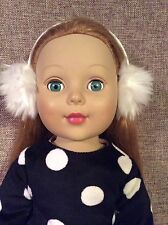 """Madame Alexander 19"""" Doll Strawberry Blonde Hair Green Eyes Clothes and Shoes"""