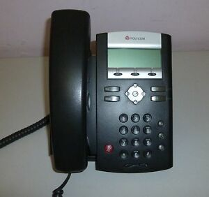Polycom Soundpoint IP 331 Business Telephone - Missing Stand