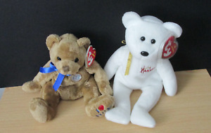 Ty Beanie Baby Hamleys And Beales Bears Mint Condition
