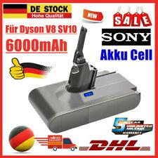 6000mAh Sony Akku für Dyson V8 SV10 Absolute Animal Fluffy Total Staubsauger QP