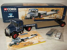 Scammell Highwayman Low loader Corgi 16702 Diecast para Pickfords en escala 1:50