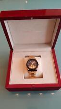 Salvatore Ferragamo Model F62 Dual Time Mens Watch