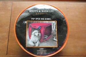 Boots & Barkley Sporty Pop Open Dog Kennel Large NIP