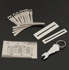 Pro Luthier Tool Kits for Repairing Guitar Instruments Understring Radius Gauges